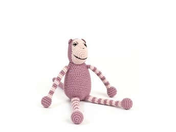 Smallstuff - Crochet Monkey - Rose