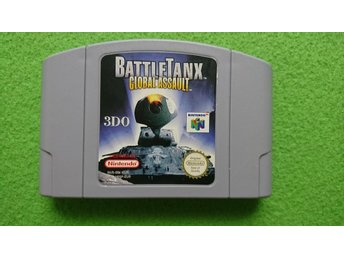 Battle Tanx Global Assault N64 Nintendo 64