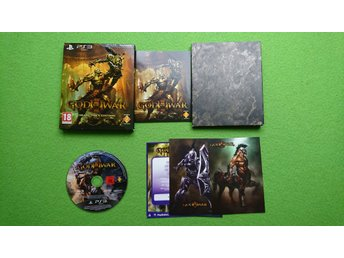 God of War 3 Collectors Edition KOMPLETT Ps3 Playstation 3
