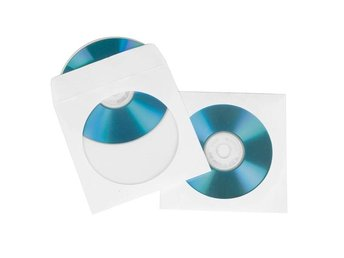 HAMA CD Fodral i Papper 100-pack
