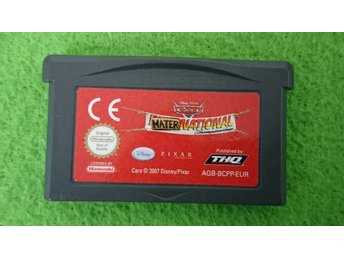 Cars Maternational Championship GBA Gameboy Advance Nintendo GBA