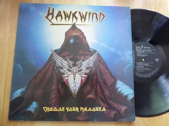 HAWKWIND - Choose your masques RCA UK -82