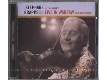 STEPHANE GRAPPELLI with  McCOY TYNER - Live Warsaw CD (INPLASTAD)