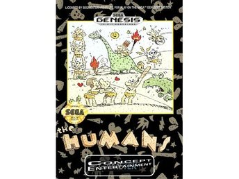 HUMANS THE (kassett) till Sega Mega Drive