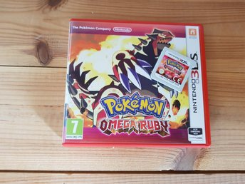Pokemon Omega Ruby 3DS & 2DS