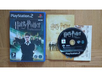 PlayStation 2/PS2: Harry Potter & Fenixorden (svensk text)