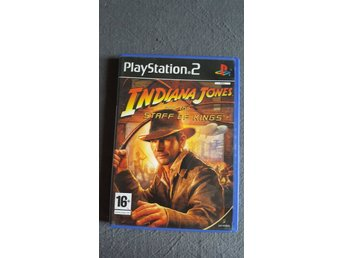 Indiana Jones and the Staff of Kings. Playstation 2. PS2.