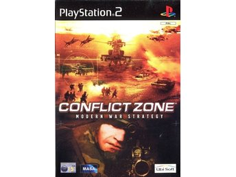 PS2 - Conflict Zone: Modern War Strategy (Ej bok) (Beg)