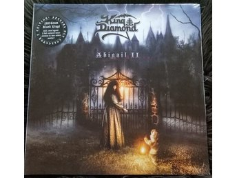 KING DIAMOND-Rare NY LTD 500ex 2LP 180g Vinyl-ABIGAIL II-Collector Ed.+Poster