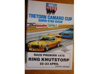 Program -RING  KNUTSTORP 1978