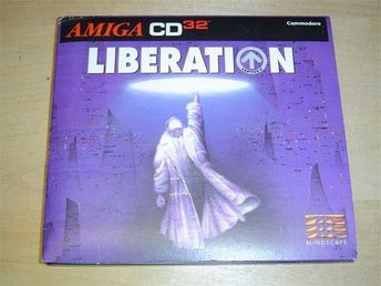 LIBERATION COMMODORE AMIGA CD32 KOMPLETT