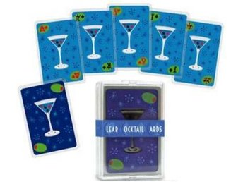Clear Cocktail Cards kortlek