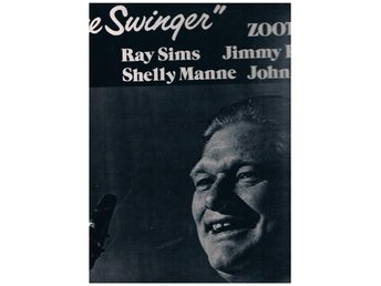Zoot Sims The Swinger PABLO LP 2310-861