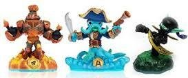 Skylanders Wii PS3 PS4 Figurer SWAP FORCE Wash Buckler Blast Zone Stealt Elf