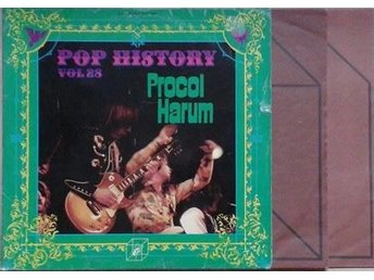 "Procol Harum titel*  Pop History Vol. 28*LPx 2 "", Comp"