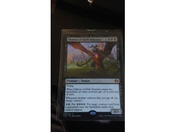 Demon of Dark Schemes - MTG Kaladesh - Mythic Rare - Magic: The Gathering