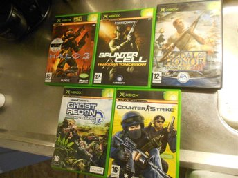 HALO 2 / SPLINTERCELL / COUNTER STRIKE / MEDAL OF HONOR / GHOST RECON