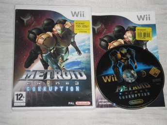 Nintendo Wii: Metroid Prime 3: Corruption