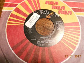 "THE MAIN INGREDIENT Feat. Cuba Gooding - Party people, 7"" RCA 1981 USA"
