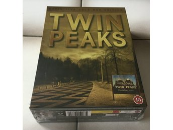 Twin Peaks - Definitive Gold Box Collection (10 dvd) Ny/inplastad