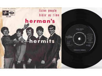 HERMANS HERMITS - LISTEN PEOPLE -   1966
