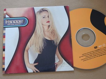 Pandora - Tell the world CD Singel 1994