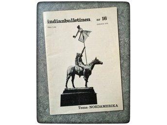 Indianbulletinen 1976 Nordamerika indianer AIM Russell Means Seattles tal Retro