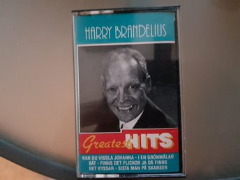 Kassettband. Harry Brandelius greatest hits