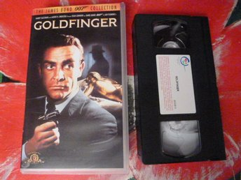 GOLDFINGER, 007, ACTION, VHS, FILM, 106 MIN.