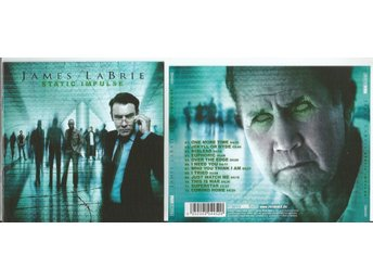 JAMES LABRIE (DREAM THEATER) - STATIC IMPULSE (CD ALBUM 2010)