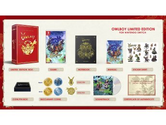 Owlboy: Limited Edition - Nintendo Switch