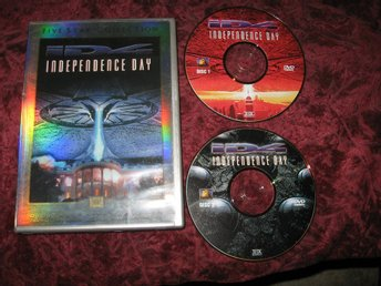 INDEPENDENCE DAY (WILL SMITH,BILL PULLMAN) 2-DISC FIVE STAR COLLECTION REGION 1