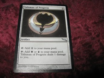 TALISMAN OF PROGRESS (ARTIFACT MIRRODIN)