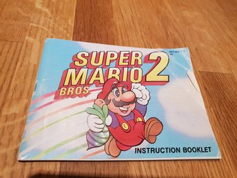 Super Mario Bros 2 SCN Manual Nintendo 8-bit NES
