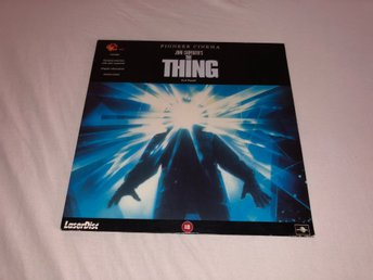 The thing - Widescreen Pioneer cinema -1st PAL Laserdisc