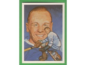 1983 Hall of fame #211 Johnny Bower