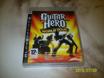 GUITAR HERO WORLD TOUR -  NYTT INPLASTAT