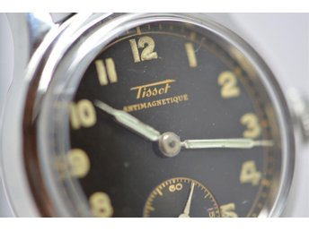 SUPER FIN VINTAGE UR TISSOT ANTIMAGNETIQUE .
