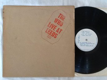 The Who -Live at Leeds  (Originalet 1970)