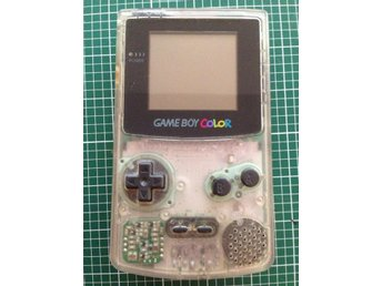 Gameboy Color Transparent - Bra skick