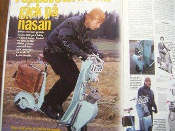 Scooter Mustad -- Folkscootern som gick på näsan -- - Skärholmen - Scooter Mustad -- Folkscootern som gick på näsan -- - Skärholmen