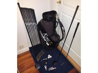 "Golfset Callaway Big Bertha Grafit+Super Ping 1"" + Putter+ Cobra Bag"