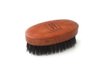 1541 Mini Beard & Moustache Brush Pearwood