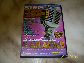 KARAOKE - Hits of the 80`s
