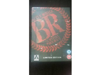 Battle Royale limiterad Arrow Video --- OOP  Ny & Komplett - Takeshi Kitano