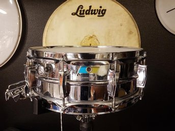 "Ludwig Supersensitive 14""x5,5"" 70-tal."