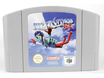 Pilotwings 64 - N64 - PAL (EU)