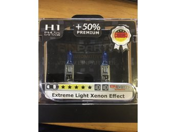 Einparts H1 premium extreme light xenon effect bulbs (lamps)