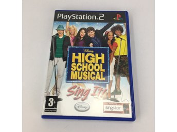 PS2 High School Musical Sing It