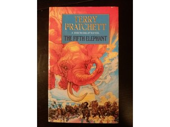 "Terry Pratchett ""The Fifth Elephant"" Discworld pocket"